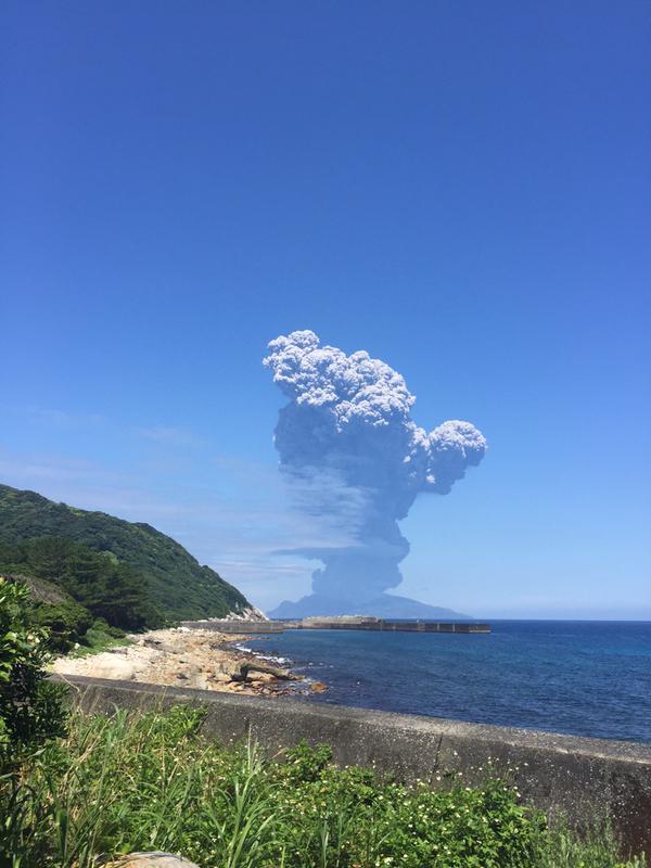 口永良部島 噴火の状況や影響は?