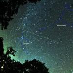 ペルセウス座流星群 今年の見える時間のピークは?方角は?